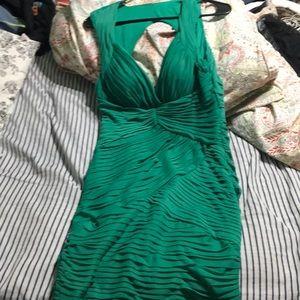 Green Arden B mini dress